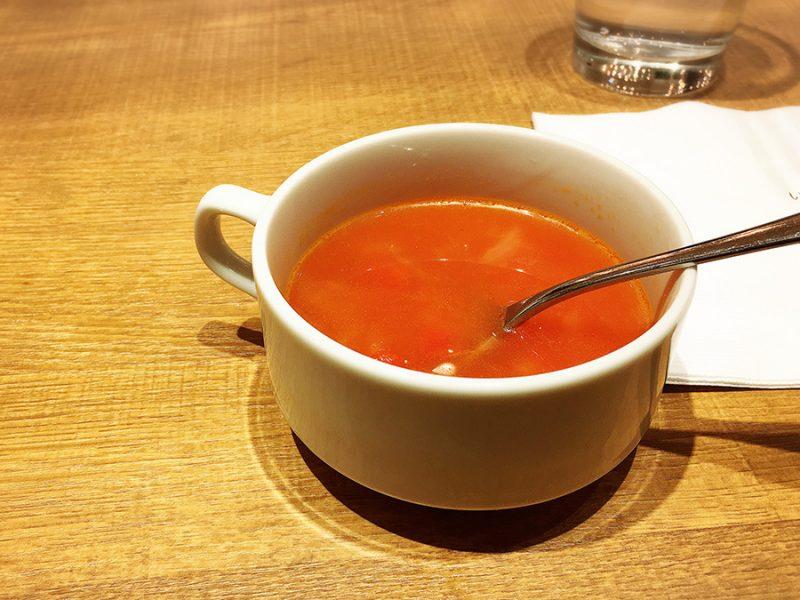 いしがまやハンバーグのスープ