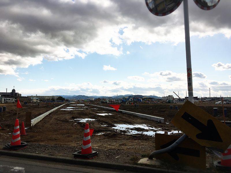 東岡崎駅北口の再開発