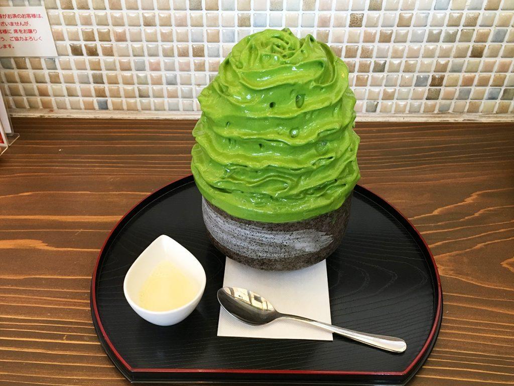 【カフェルーク】西尾の抹茶エスプーマかき氷が美味 ...