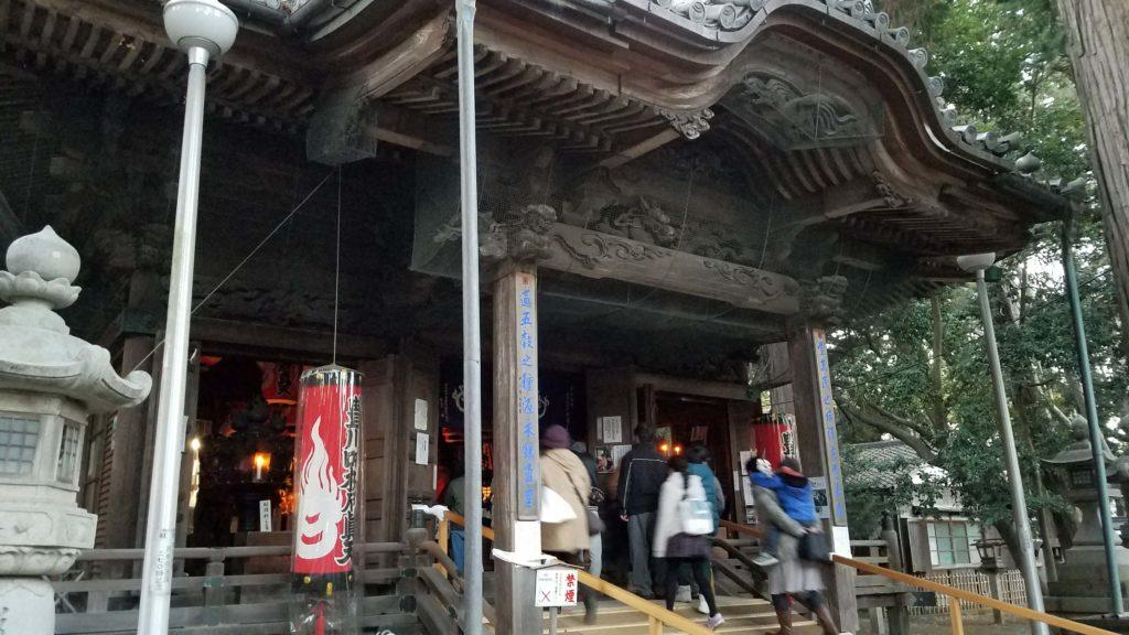 愛知県、豊川稲荷の初詣の混雑状況